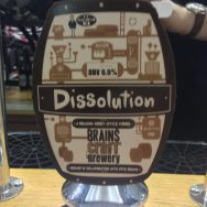 Dissolution - Brains Craft Brewery
