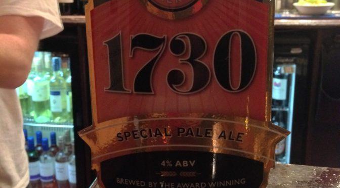1730 Special Pale Ale - Westerham Brewery