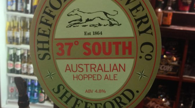 37° South - B & T Shefford Brewery
