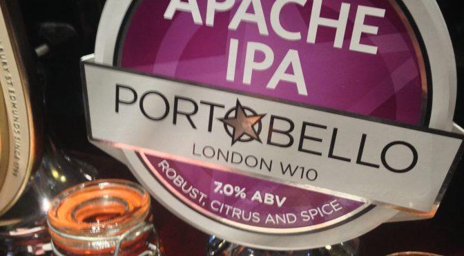 Apache IPA - Portobello Brewery