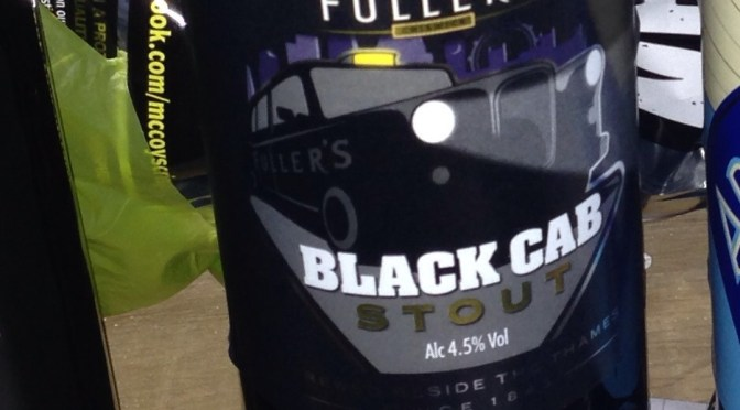 Black Cab Stout - Fuller's Brewery