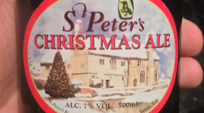 Christmas Ale - St Peter's Brewery