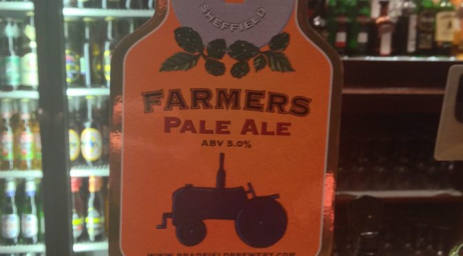 Farmers Pale Ale - Bradfield Brewery