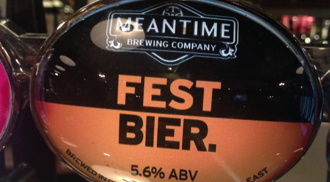 Fest Bier - Meantime Brewery