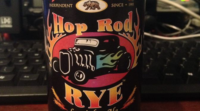 Hop Rod Rye Ale - Bear Republic Brewery