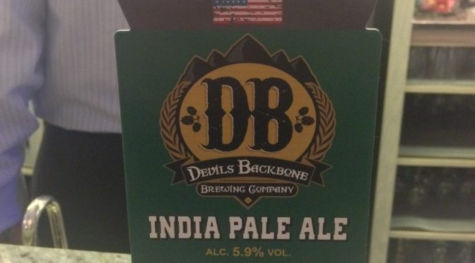India Pale Ale – Devils Backbone (Everards) Brewery