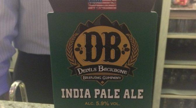 India Pale Ale – Devils Backbone (Everards) Brewery