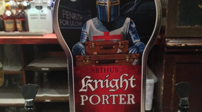 Jennings Arthur's Knight Porter - Marston Brewery