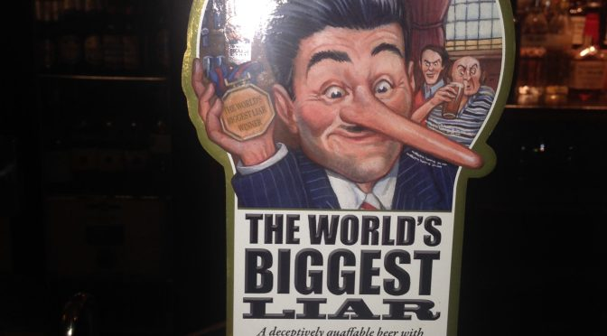 Jennings The World's Biggest Liar – Marston's Brewery