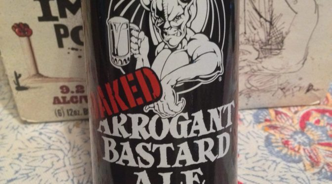 Oaked Arrogant Bastard Ale - Stone Brewery