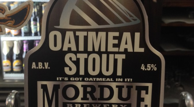 Oatmeal Stout - Mordue Brewery