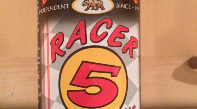 Racer 5 India Pale Ale - Bear Republic Brewery