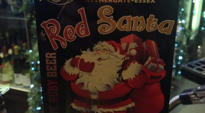 Red Santa - Growler (Nethergate) Brewery
