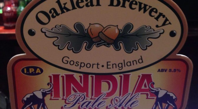 India Pale Ale - Oakleaf Brewery