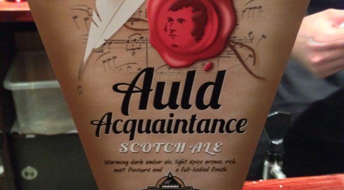 Auld Acquaintance Scotch Ale - Caledonian Brewery