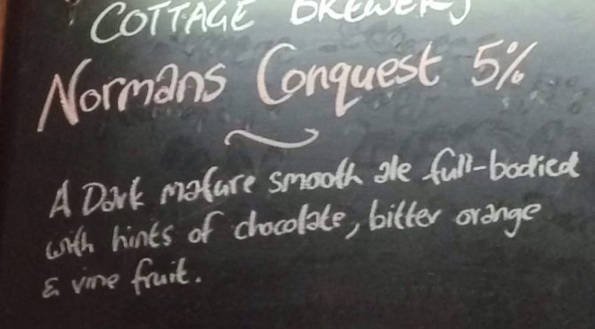 Normans Conquest - Cottage Brewery