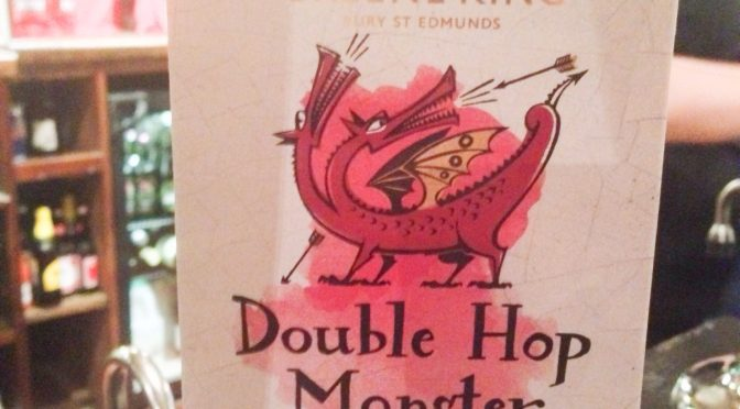Double Hop Monster - Greene King Brewery