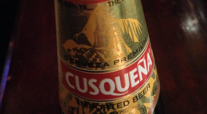 Cusqueña - Backus and Johnston Brewery