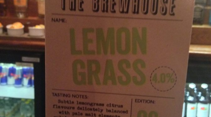 Lemon Grass - Lancaster Brewery