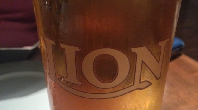 Lion Lager - Lion Brewery