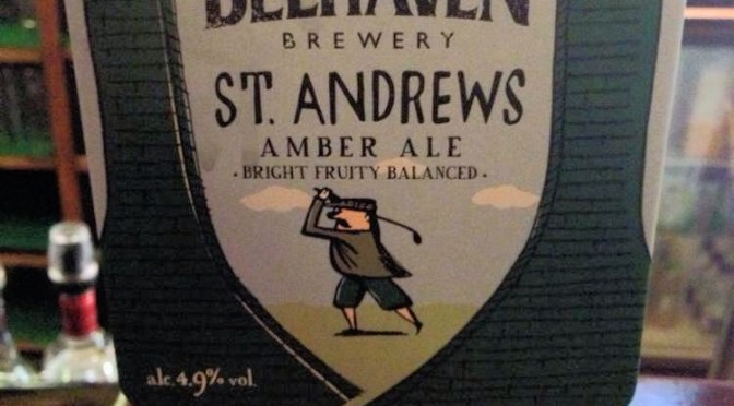 St. Andrews Amber Ale – Belhaven Brewery