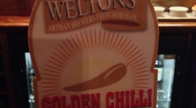 Golden Chilli Warmer – Weltons Brewery