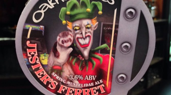 Jester's Ferret – Oakham Ales