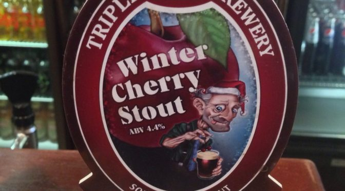 Winter Cherry Stout – Triple FFF Brewery