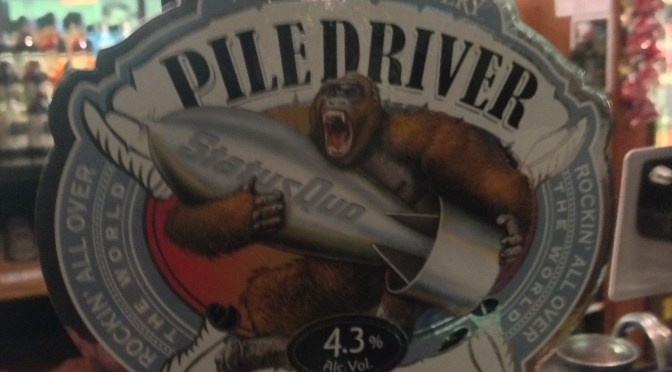 Piledriver - Wychwood Brewery