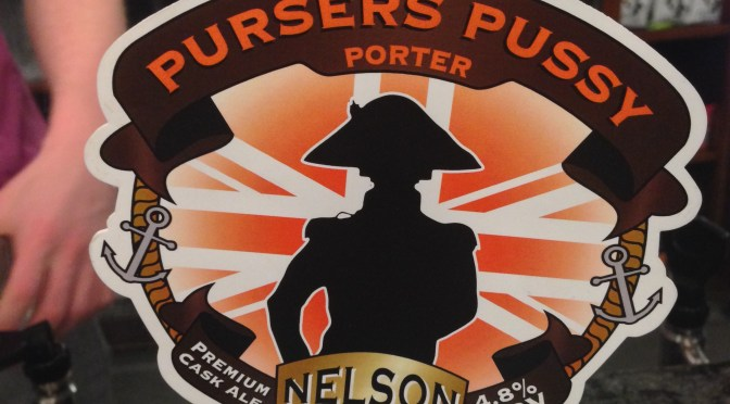 Pursers Pussy Porter - Nelson Brewery