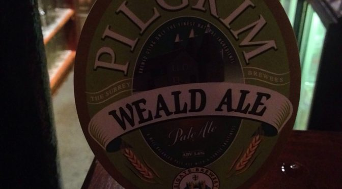 Weald Ale – Pilgrim Brewery