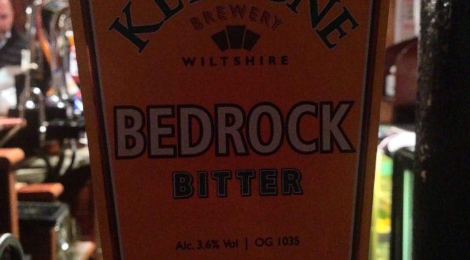 Bedrock Bitter – Keystone Brewery