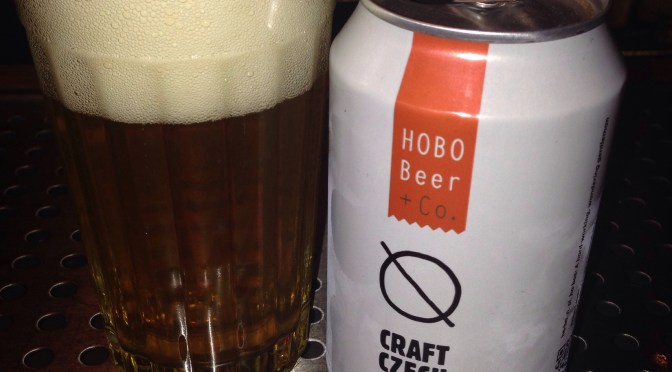 Craft Czech Lager – Hobo Beer + Co.
