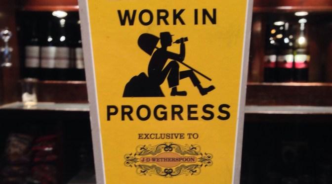 Work in Progress – Elland Brewery