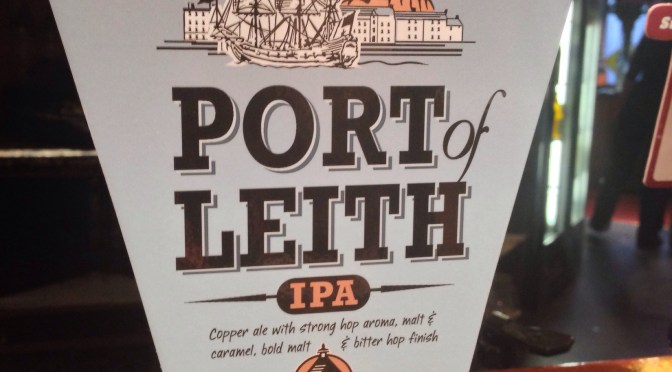 Port of Leith – Caledonian Brewery