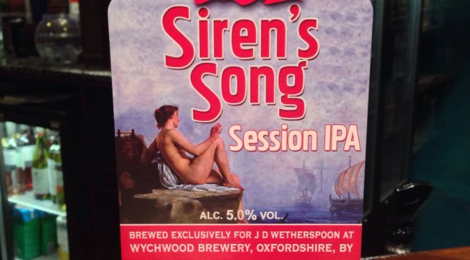 Siren's  Song Session IPA – Cigar City (Wychwood) Brewery