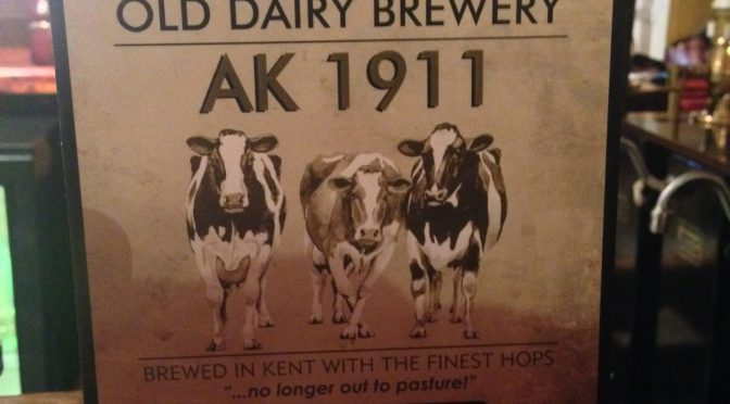 AK 1911 - Old Dairy Brewery
