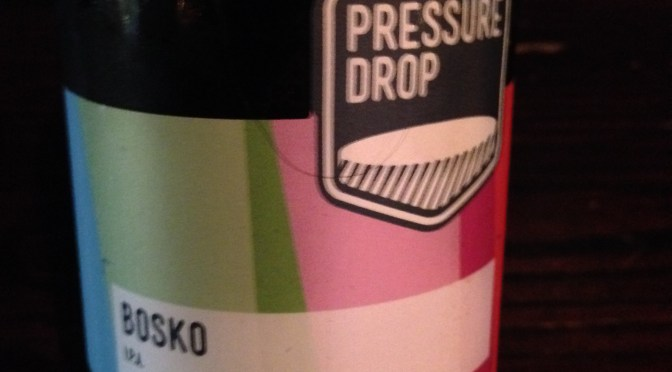 Bosko IPA – Pressure Drop Brewing