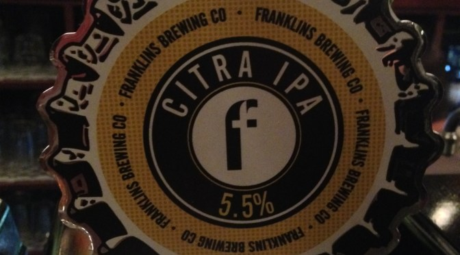 Citra IPA – Franklin's Brewing Co