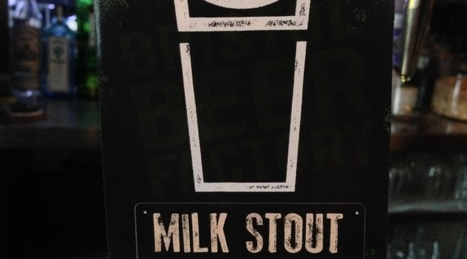 Milk Stout - Bristol Beer Factory