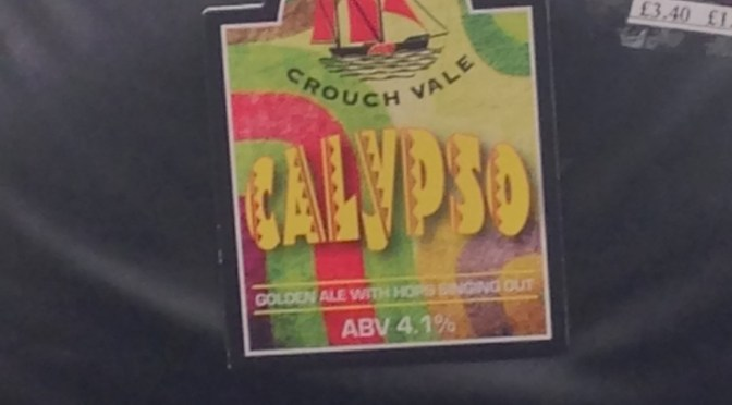 Calypso – Crouch Vale Brewery