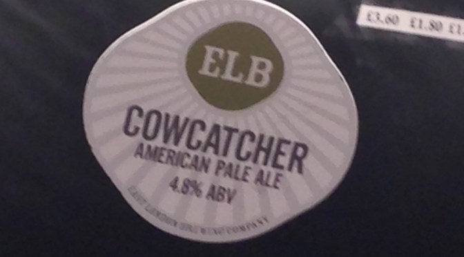 Cowcatcher American Pale Ale – East London (ELB) Brewery