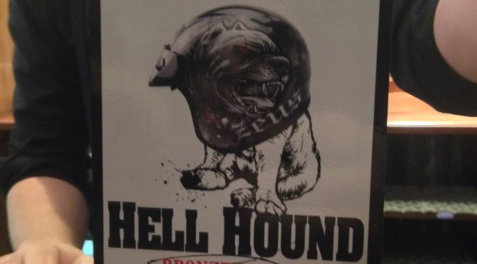 Hell Hound – Growler (Nethergate) Brewery