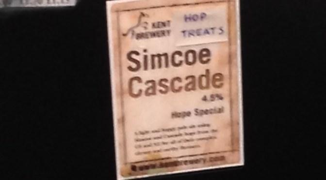 Simcoe Cascade – Kent Brewery