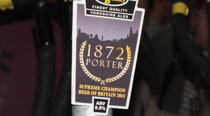 1872 Porter – Elland Brewery