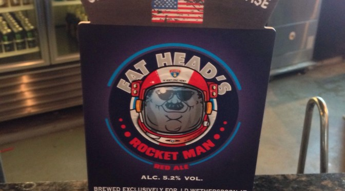 Rocket Man Red Ale – Fat Head's (Wadworth) Brewery