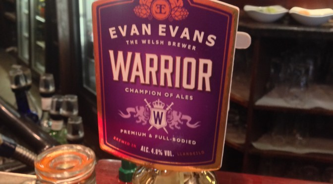 Warrior – Evan Evans Brewery