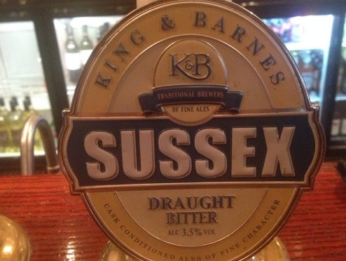 Sussex Draught Bitter – King & Barnes Brewery