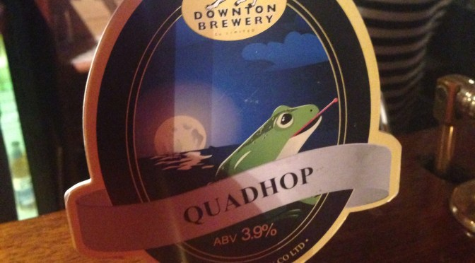 Quadhop – Downton Brewery