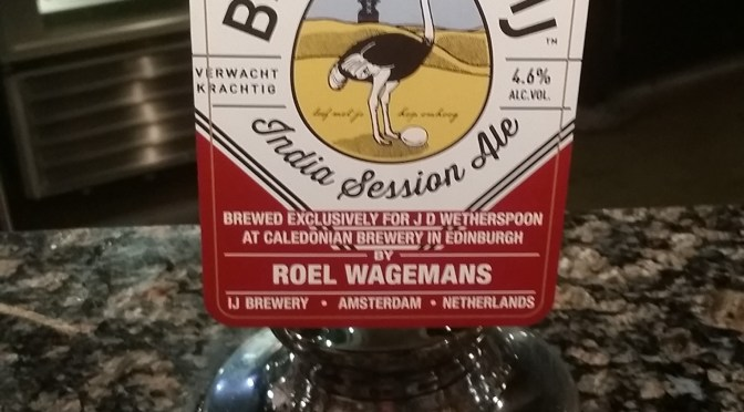 India Session Ale – Caledonian (Brouwerij 't IJ) Brewery